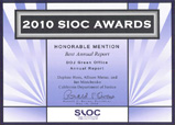 2010 State Information Officers Council Award