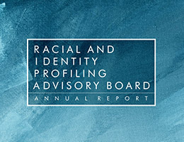 Racial and Identity Profiling Advisory (RIPA)