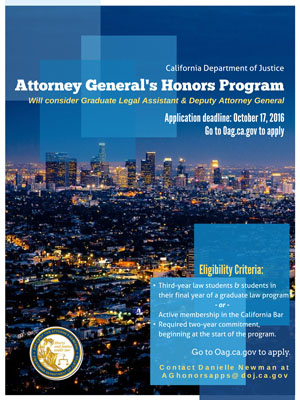 AG Honor's Flyer