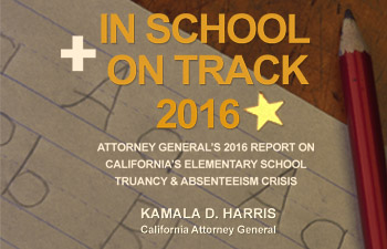 A.G. Harris releases In School + On Track 2016 report