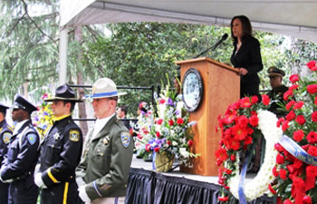 Attorney General Harris Honors Fallen California Peace Officers