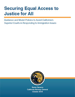 Guidance and Model Policies to Assist California's Superior Courts