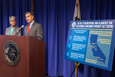 Bill to Strengthen California Consumer Privacy Act Announced