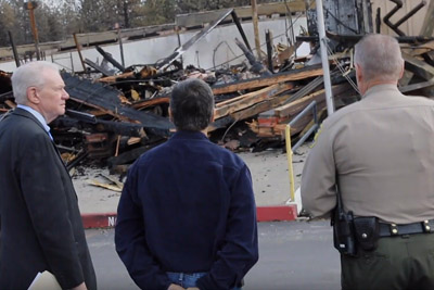 AG Becerra Tours Site of Camp Fire Video