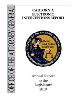2019 California Electronic Interceptions Report
