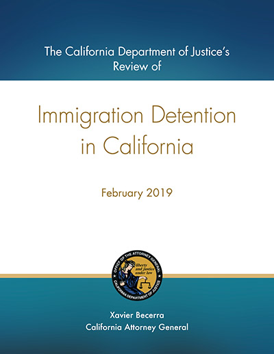 Download Immigration Detention in California 2019