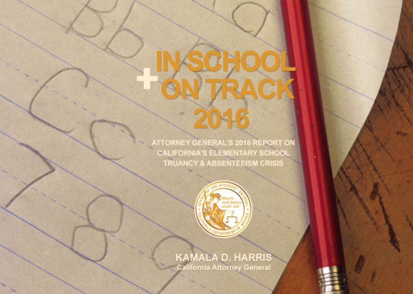 In School + On Track 2016 Cover